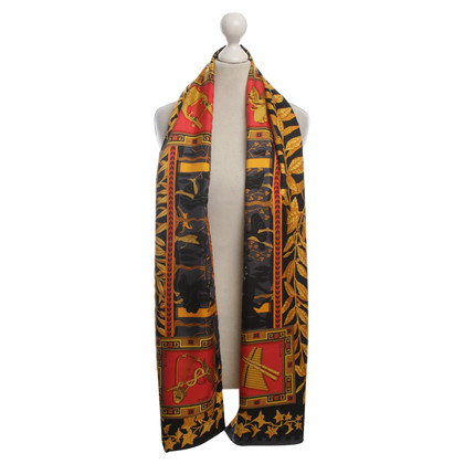 Hermès Sciarpa di seta/Angora