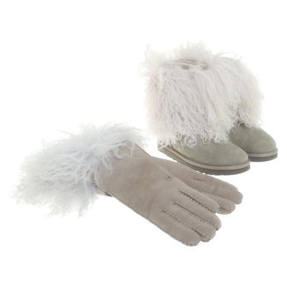 UGG Australia Boots mit Handschuhen