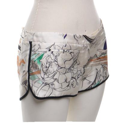 Prada Pantaloncini di seta