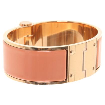 Hermès Armband in Gold / Apricot