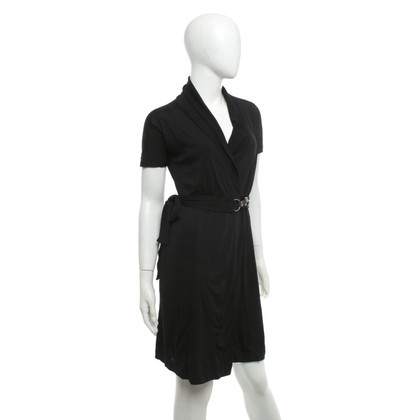 Marc Cain Wrap dress in black