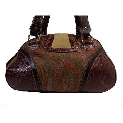 Etro Reptile leather bag