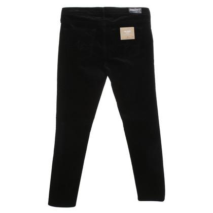 Adriano Goldschmied pantaloni di velluto in nero
