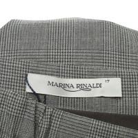 marina rinaldi rock mit glencheck muster second hand. Black Bedroom Furniture Sets. Home Design Ideas