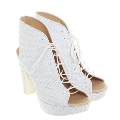 MM6 by Maison Margiela Sandals in white