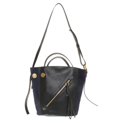 Chloé Shoulder bag in black / blue
