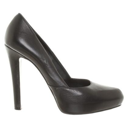 Givenchy Zwarte lederen pumps
