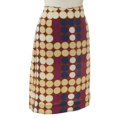 Marni for H&M Silk skirt with points