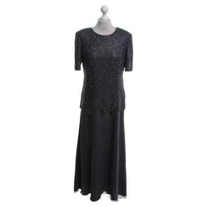 Andere Marke Abendkleid mit Paillettenbesatz