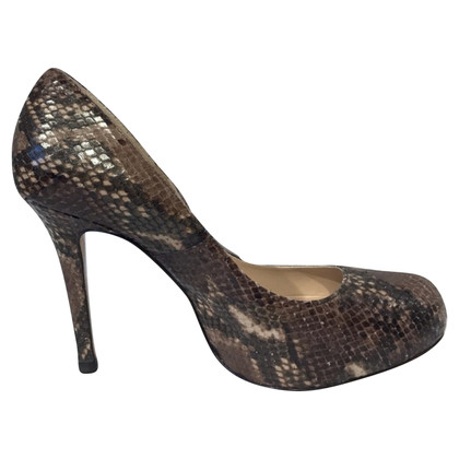 L.K. Bennett pumps made of snakeskin