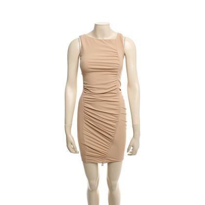 Patrizia Pepe Nudefarbenes Kleid