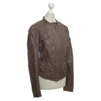 Hugo Boss Lamb leather jacket