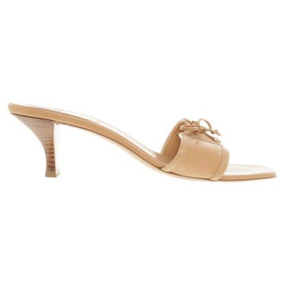 Bally Mules in Beige