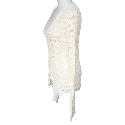 DKNY Knitted top in cream
