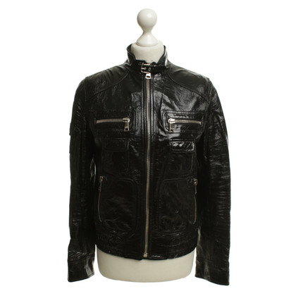 Dolce & Gabbana Short jacket in biker style