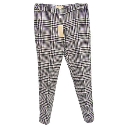 Michael Kors trousers with houndstooth pattern