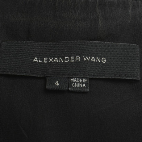 Schwarz Wang Lederweste Schwarz Lederweste Lederweste Alexander in Alexander Wang Alexander Schwarz Schwarz in in Wang WRO1Aqq