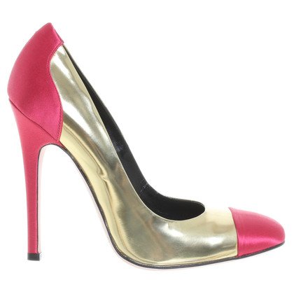Giambattista Valli Goldfarbene Pumps