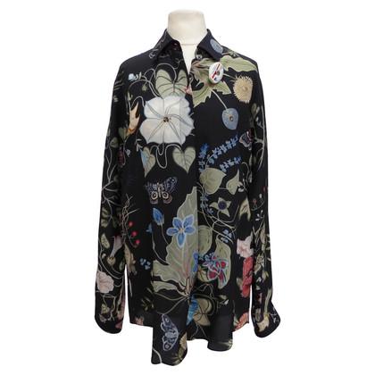 Gucci Zijden blouse met print