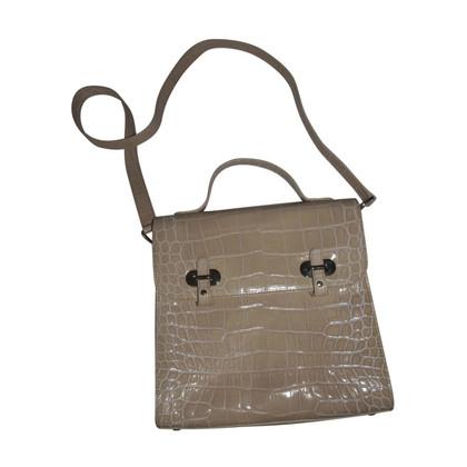 aigner handtasche in krokopr gung second hand aigner handtasche in krokopr gung gebraucht. Black Bedroom Furniture Sets. Home Design Ideas