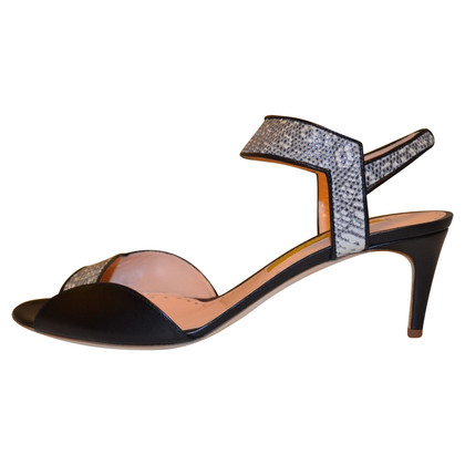 Rupert Sanderson Sandals with lizard skin