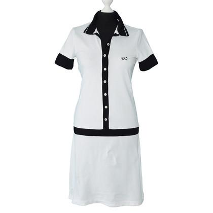 Escada Cotton Polo Dress