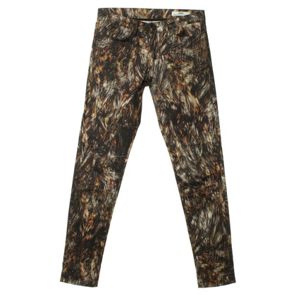 Hope Hose im Animal-Print