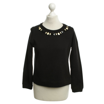 Maliparmi top in black