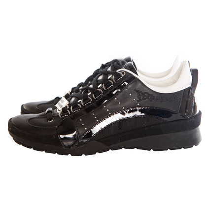 Dsquared2 scarpe da ginnastica nere