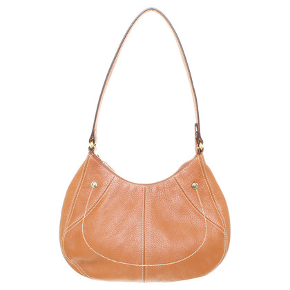 Aigner Leather handbag in Cognac