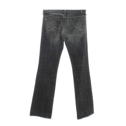 7 For All Mankind Jeans « Bootcut Long » gris