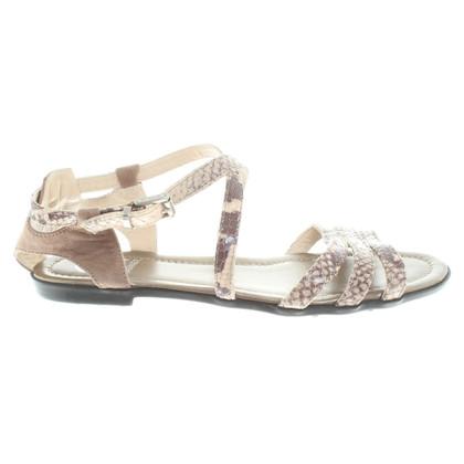 Bogner Sandals in reptile look