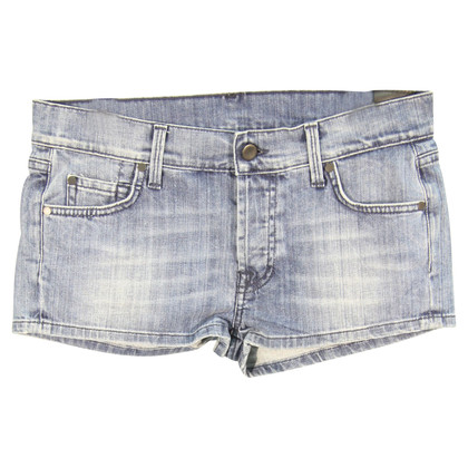 7 For All Mankind Jeans-Shorts in Blau