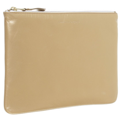 Comme des Garçons Maxi-wallet and purse in gold