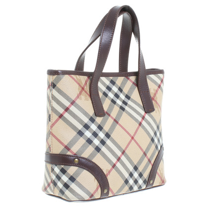 Burberry Shoppers with Nova check pattern