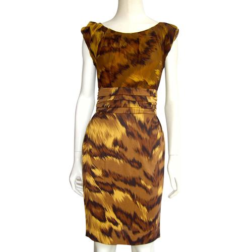Diane Von Furstenberg Dress With Leopard Print