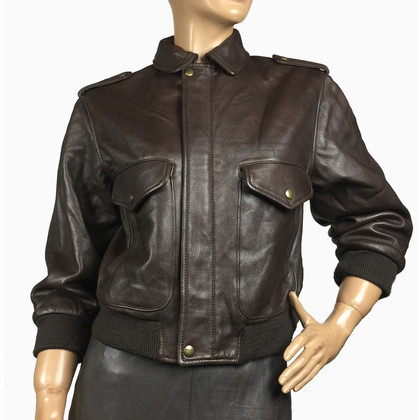 Mabrun Bomber leather jacket