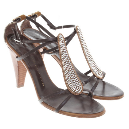 Giuseppe Zanotti Strappy sandals in brown