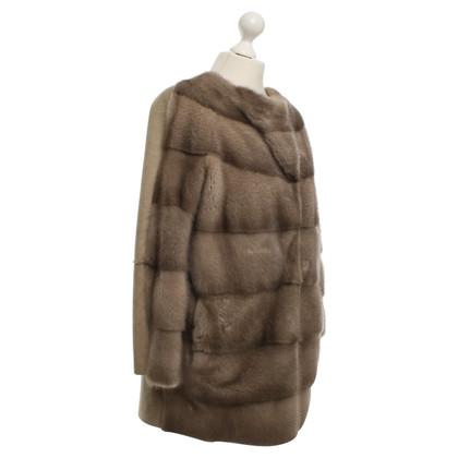 Andere merken Manzoni 24 - Coat lamsvlees / Mink