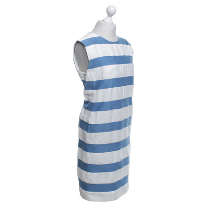 Max Mara Gestreiftes Kleid in Bicolor