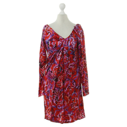 Emanuel Ungaro Dress with flower pattern
