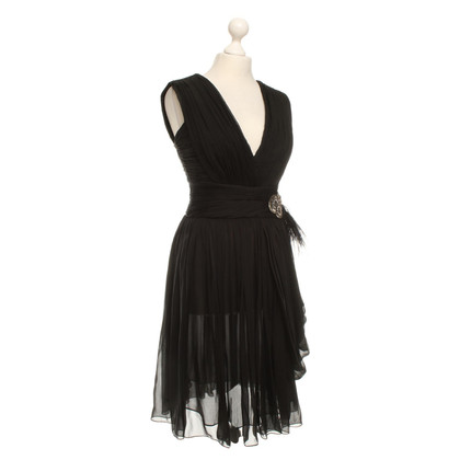 Matthew Williamson Silk dress in black