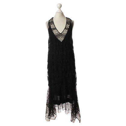 By Malene Birger Abito in nero Crochet