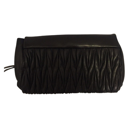 Miu Miu clutch in black