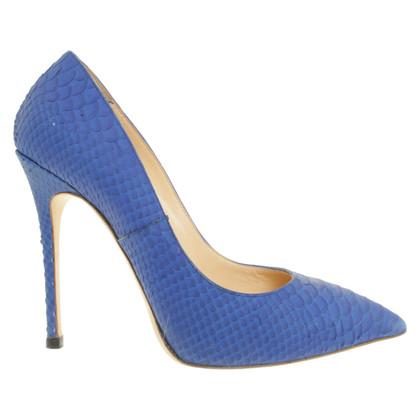 Giuseppe Zanotti pumps in blu