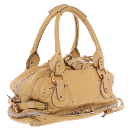 "Chloé ""Paddigton-Bag"" in giallo senape"