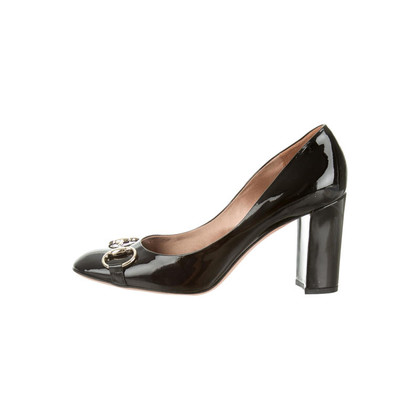 Gucci Lackleder-Pumps