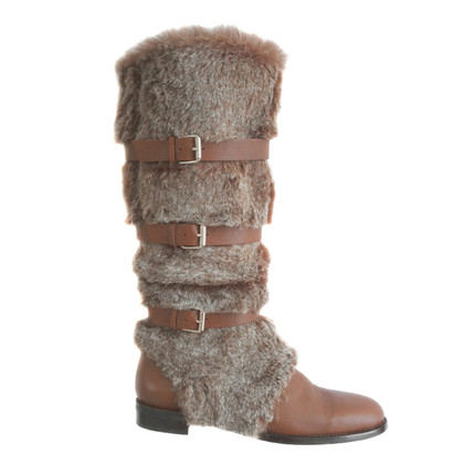 Other Designer Frida - leather/fur boots