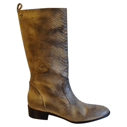 Patrizia Pepe Boots made of reptile leather