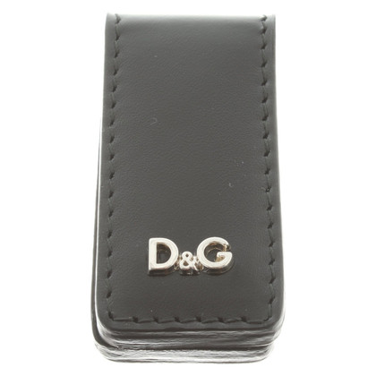 Dolce & Gabbana Letterklem in zwart
